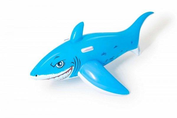 Dmuchany niebieski  Rekin 157x71cm