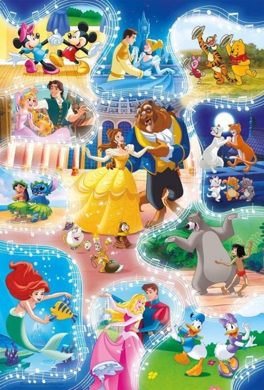 Puzzle 24 EL Maxi Super Kolor Dance Time