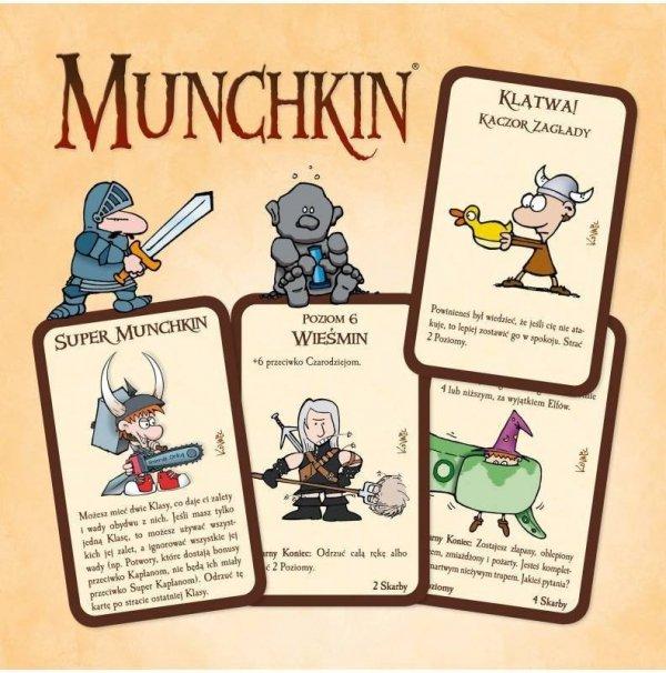 Gra Munchkin Edycja Podstawowa