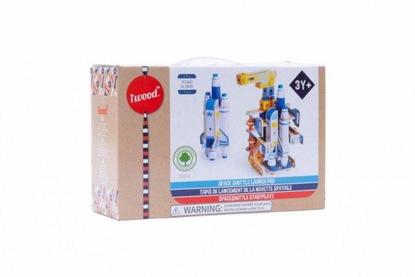 Klocki drewniane konstrukcyjne Kosmoport