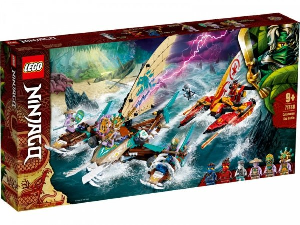 Klocki Ninjago 71748 Morska bitwa katamaranów