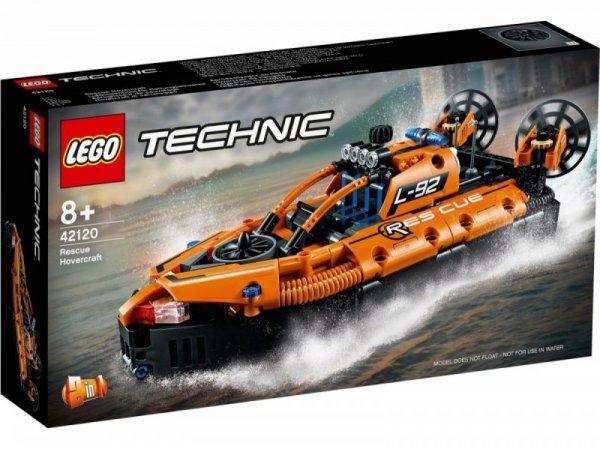 Klocki Technic 42120 Poduszkowiec ratowniczy