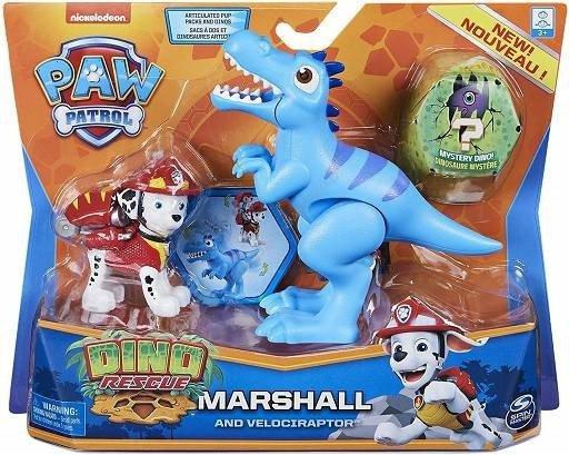 Figurki Akcji Dino Rescue Marshall Psi Patrol