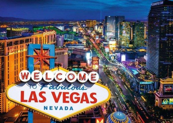 Puzzle 1000 elementów Las Vegas
