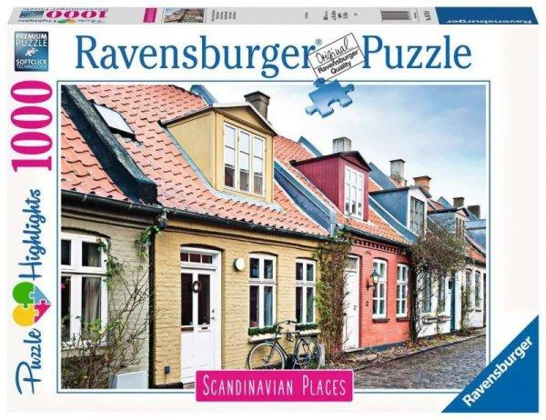 Puzzle 1000 elementów Skandynawskie Miasto 2