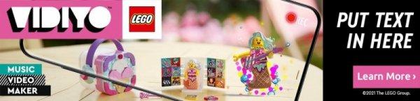 Klocki VIDIYO 43102 Candy Mermaid Beatbox