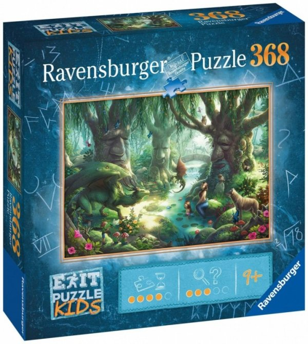 Puzzle 368 elementów Exit Magiczny las