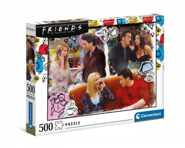 Puzzle 500 elementów Przyjaciele
