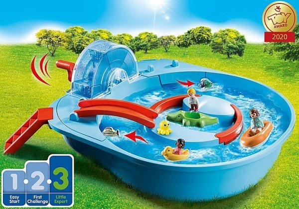 Figurki 1.2.3 70267 AQUA Park wodny