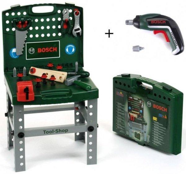 Warsztat Bosch walizkowy z wkrętarką