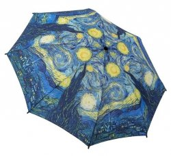 Gwiaździsta Noc van Gogh Mała Parasolka damska Galleria