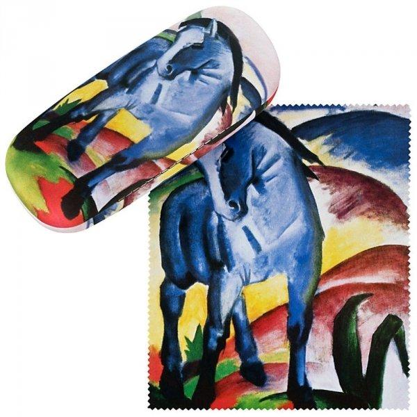 Franz Marc Niebieski koń - etui na okulary Von Lilienfeld