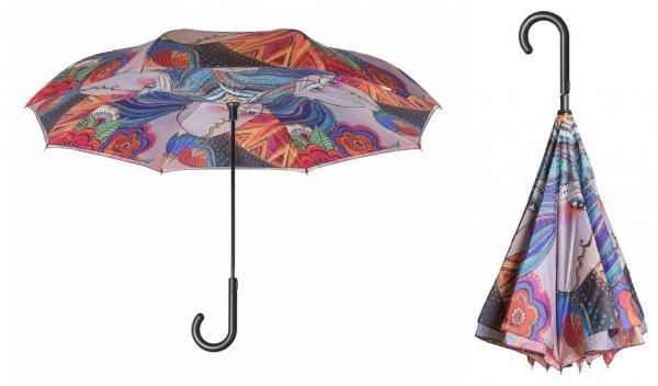Laurel Burch Mikayla - parasol odwrotny automat Galleria