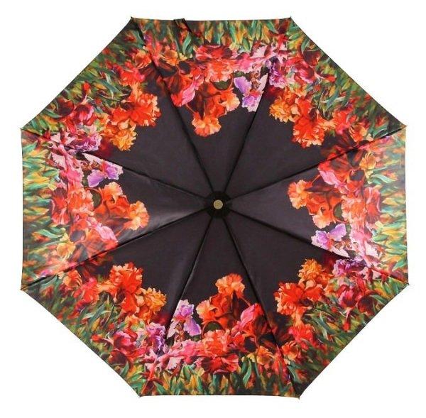 Kwiaty - satynowa parasolka Zest 23744 + luxury box