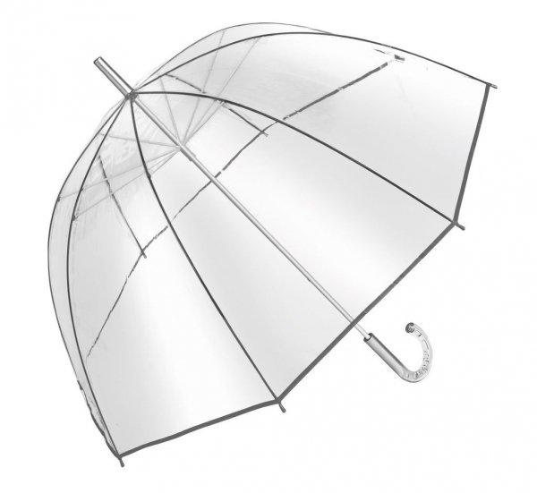 Bellevue głęboka parasolka przezroczysta