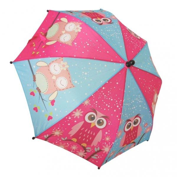 Sowy i sówki - kolorowa parasolka dziecięca