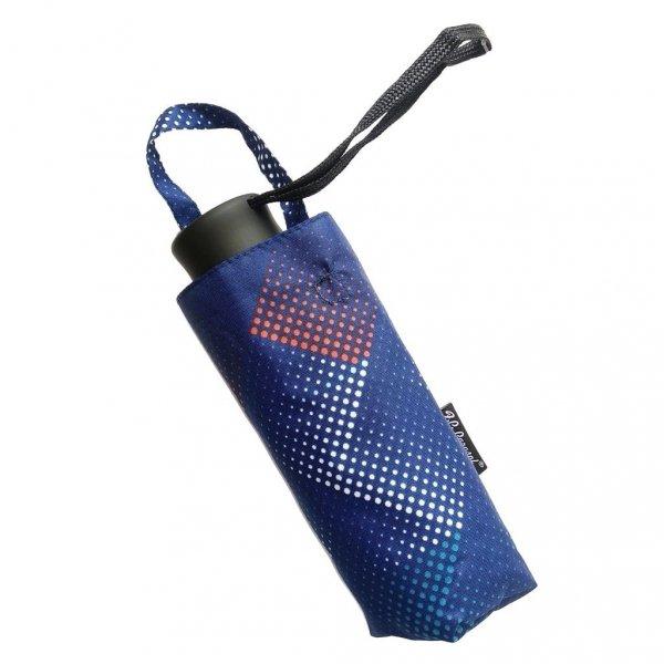 Niebieskie wydmy mini parasolka składana DM405