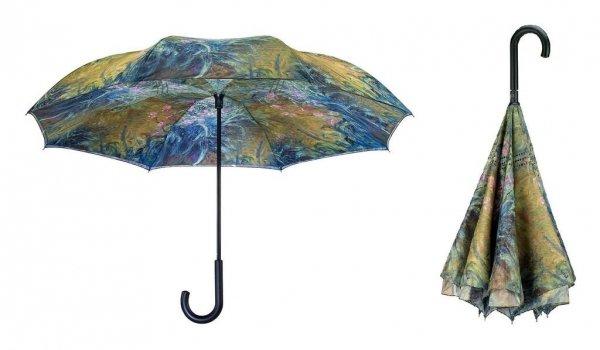 """Claude Monet """"Irysy"""" - parasol odwrotny automat Galleria"""