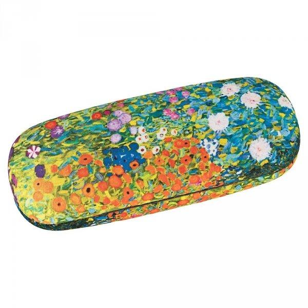 """Gustav Klimt """"Ogród kwiatowy"""" - etui na okulary Von Lilienfeld"""
