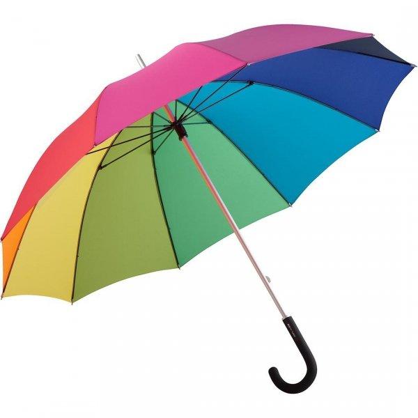 Colori - długi parasol tęcza 115 cm Fare