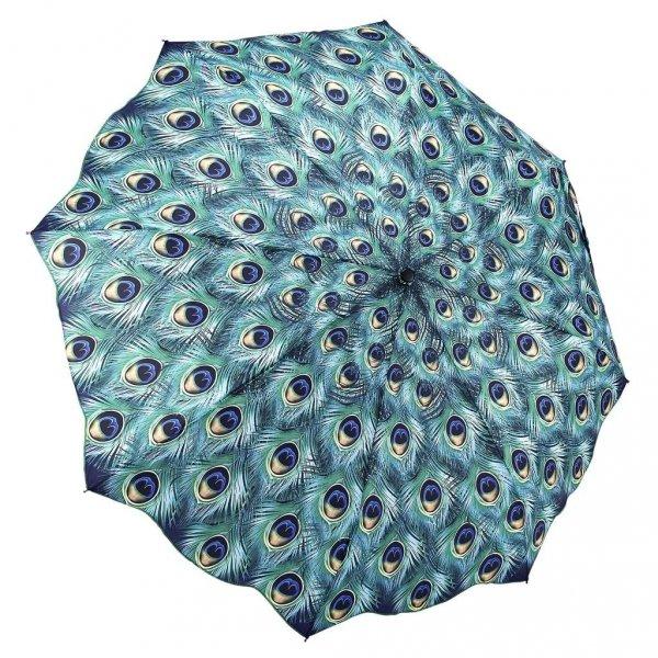 Peacock - pawie oczka - parasolka składana Galleria