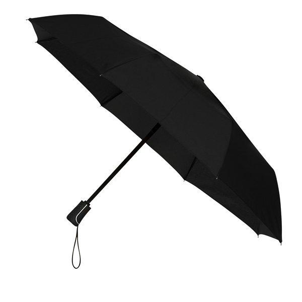 Automatic black uniwersalna parasolka składana full-auto