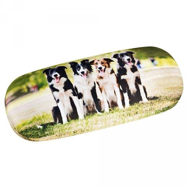 Border Collies - etui na okulary Von Lilienfeld