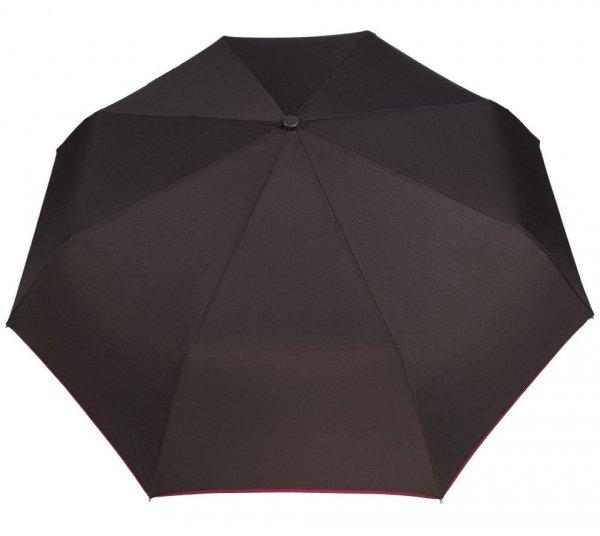 Ben - parasol składany full auto rączka skóra MP332