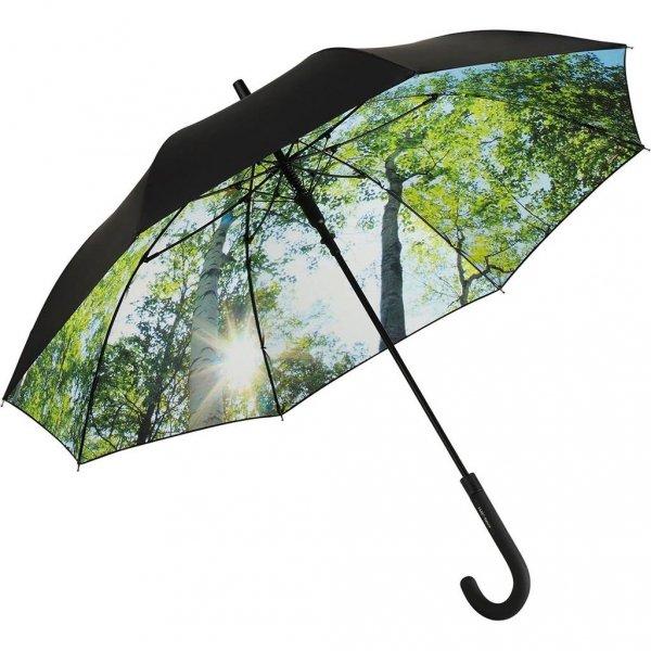 Natura - długi parasol na deszcz i słońce z filtrem UV UPF50+