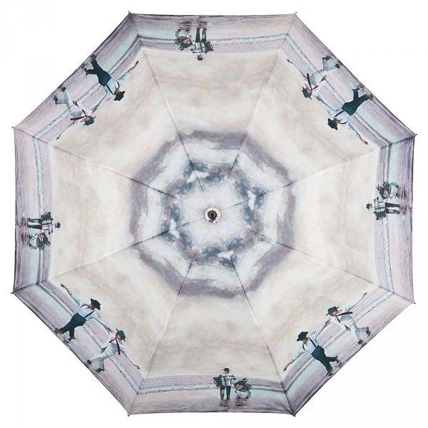 Taniec Sirtaki - długi parasol ze skórzaną rączką