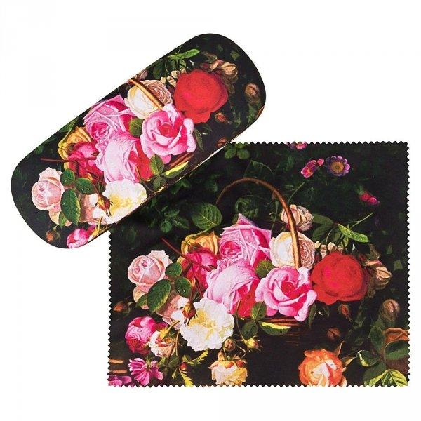 """William Hammer """"Kosz z różami"""" - etui na okulary Von Lilienfeld"""