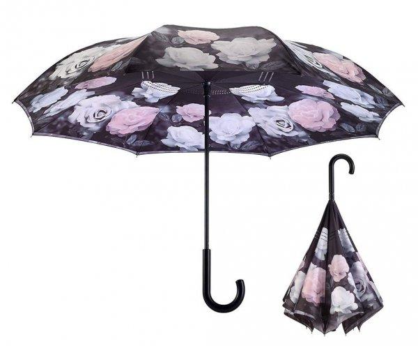 Vintage Roses - parasol odwrotny Galleria