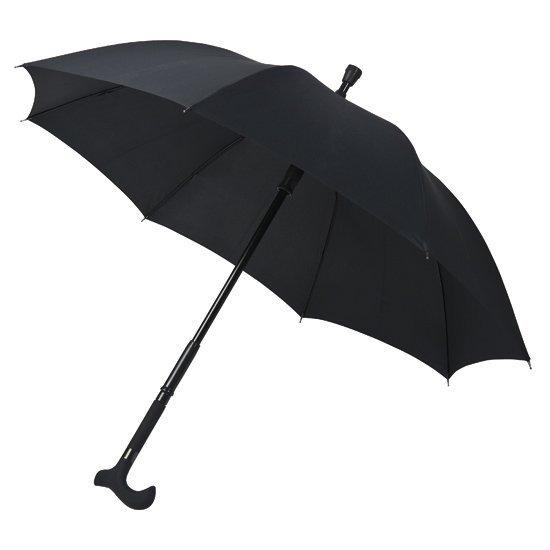 Nestor - parasol z laską chowaną w trzonku 2w1