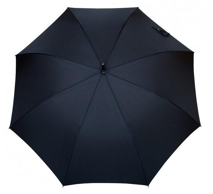 Evan - klasyczny parasol ze skórzaną rączką