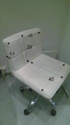 Pokrowce kosmetycznena krzesełko z oparciem Kris