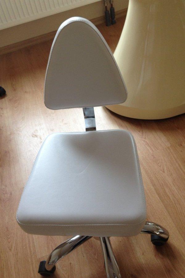 Pokrowce kosmetyczne na krzesełko VI welur szary nr 59