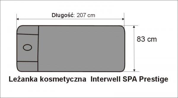 Pokrowce na leżankę  Interweel SPA Prestige frotte zielone nr 26