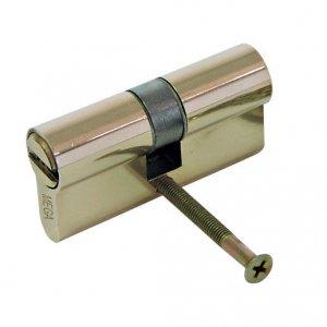 24666K Wkładka bębenkowa mosiężna security symetryczna 62 mm, Mega