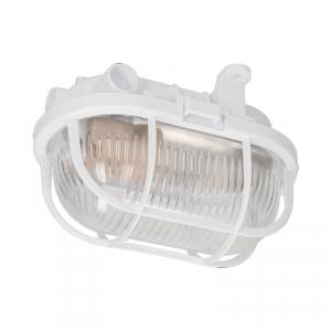 OVAL 60 7040T/P, oprawa oświetleniowa, 60W, E27, IP54, klosz szklany, osłona  plastikowa
