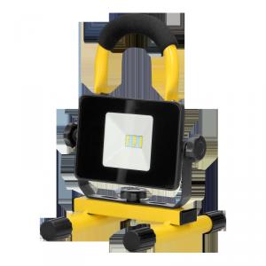 BATRI LED 10W, Naświetlacz roboczy, przenośny z akumulatorem, 800lm, IP65, 6500K, 2200mAh