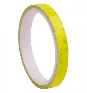 AG402D Naklejka odblaskowa 1cmx8m żółta