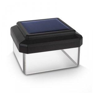 Lampa solarna na słupek LED 60*60 GreenBlue GB126 - daszek kopertowy