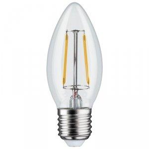 Żarówka Maclean, Filamentowa LED E27, 4W, 230V, WW ciepła biała 3000K 400lm, Retro edison ozdobna świeczka C35, MCE264