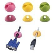 EBA101M Organizer do kabli mix kolor 6 sztuk Esperanza