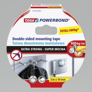 H5579203 Taśma montażowa dwustronna  Tesa Powerbond Super Mocna 55792