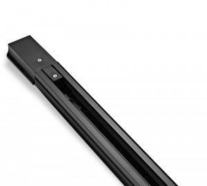 Listwa szynowa jednofazowa 100 cm czarna