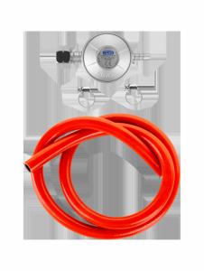 Reduktor gazowy do grilla (reduktor+wąż+opaski)