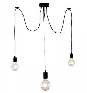 ZD74C Lampa sufitowa 3 ramiona żyrandol