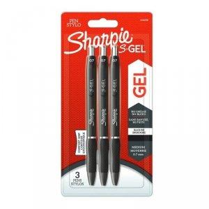 Sharpie-długopis żelowy S-GEL czarne blister 3 szt