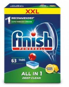 FINISH Tabletki do Zmywarki All-in-1 Lemon 63szt